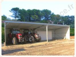 Bâtiment agricole, bâtiment industriel, kit métallique